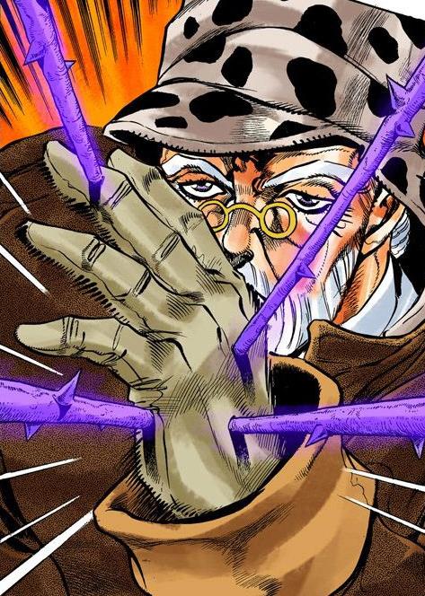 Hermit Purple DU Infobox Manga.png