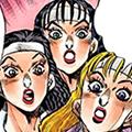 Yoshie, Reiko, and Akemi