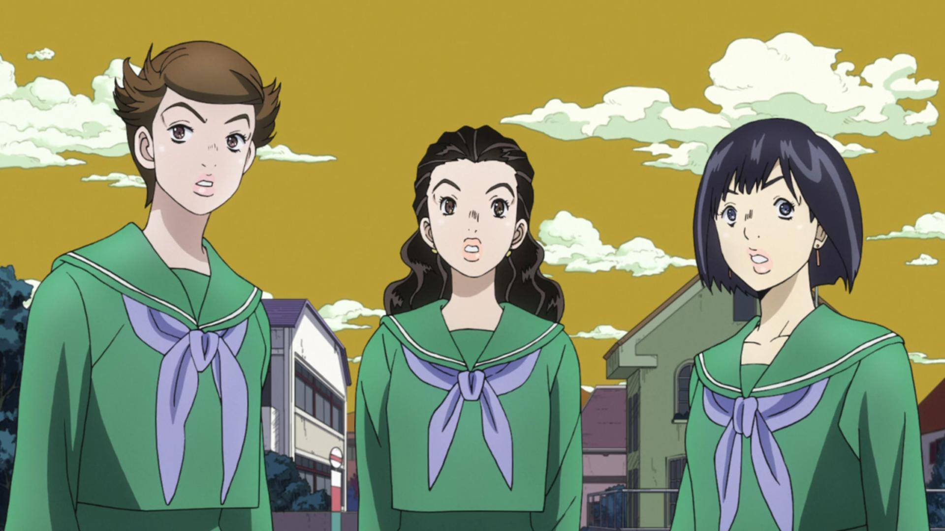Josuke's Groupies