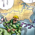 Steel Ball Run race#Route