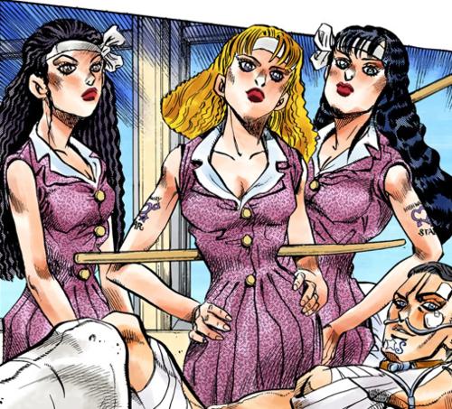 Reiko, Yoshie, and Akemi Infobox Manga.png