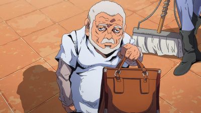 Pericolo holding a suitcase with Polpo's treasure.png