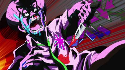 Tamami stabs himself.png