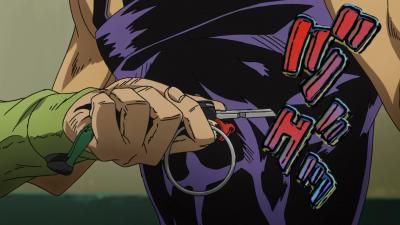 Fugo stabs Anime.png