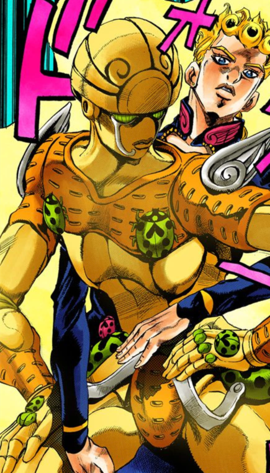 Gold Experience Infobox Manga.png