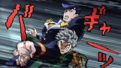 Josuke forced to hit Koichi.png