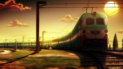Florence express dusk anime.png