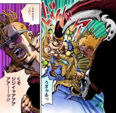 Angrily punching Norisuke.png