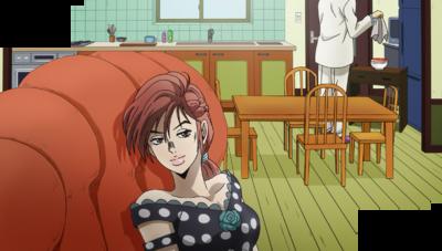 Shinobu smirks at Kira.png