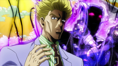 Kira reveals his stand.png