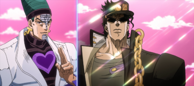 Jotaro challenges Telence.png
