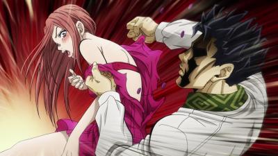 Kira tears Shinobu's dress.png