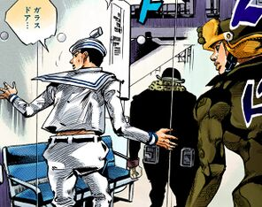 Josuke rai pursues head doctor.jpg