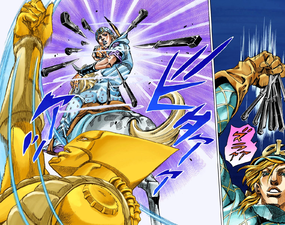 Diego Brando recreates the scene from stardust crusaders.png