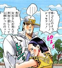 Tomoko hugs Jotaro.jpg