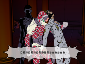 PS2 Bucciarati punched by King Crimson.png