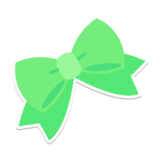 PPPDecoStickerGreenRibbon.png