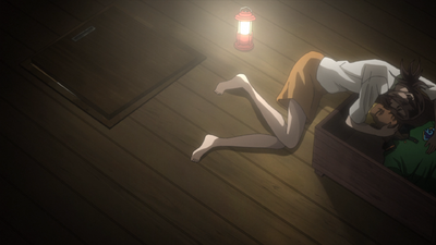 TSKR2 Naoko hugging Gunpei's dead body.png