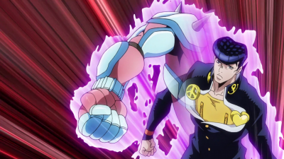 Josuke attacks Jotaro.png