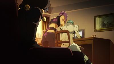Melone Ghaccio Nero Glimpse Anime.PNG
