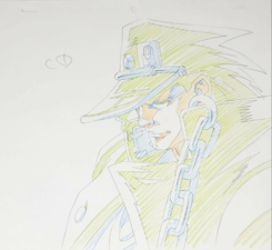 OVA Jotaro smile.png