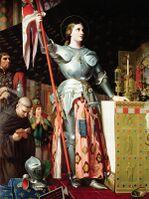 Joan of Arc at the Coronation of Charles VII.jpg