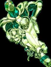 Hierophant Green Infobox Manga.png