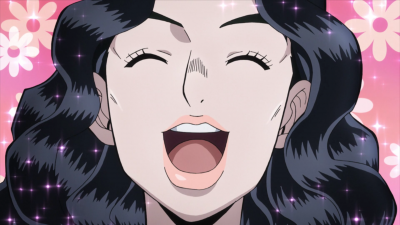 Yukako happy over a right answer.png