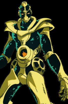 Hierophant Green Infobox OVA.png