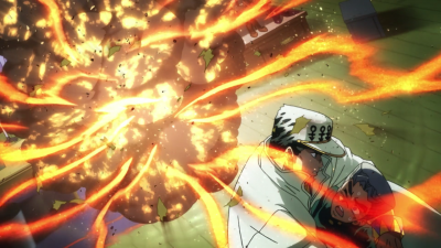 Jotaro protects Koichi from SHA.png