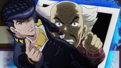 Josuke threatens Yoshihiro.png