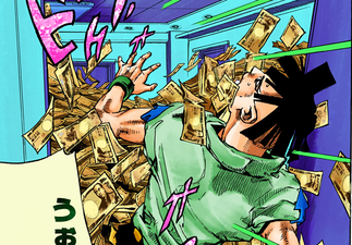 Joshu with too much money.png