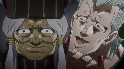Polnareff meets Enya the Hag.png