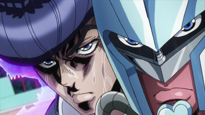 Josuke and CD fight Kira.png