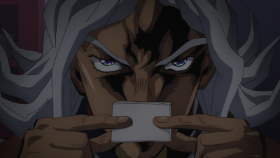 Terunosuke holds a paper.png