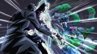 Kira pummeled by Jotaro.png