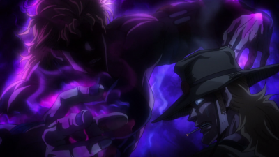 Dio threatens Hol Horse.png