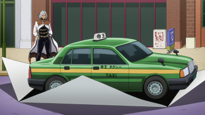 Terunosuke pull out car from paper.png