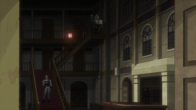 Enya hotel hall anime.png