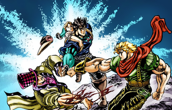 Jonathan and Zeppeli vs Dio.png