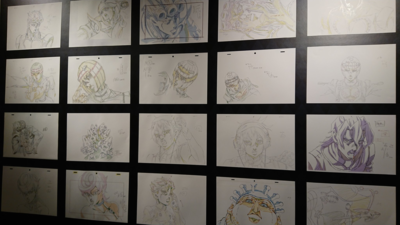 Tower Records PT5 event Genga Wall.png