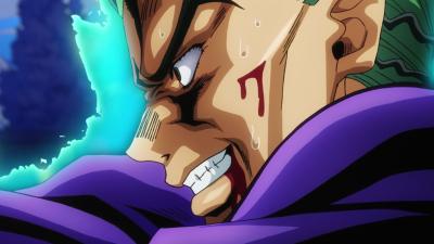 Kira about to kill Josuke.png