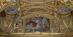 Ceiling Antonine Hall Paintings.JPG