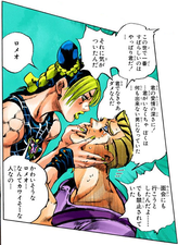 Jolyne confronting romeo.png