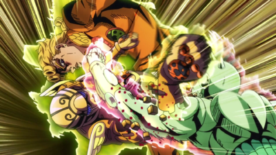 Babyface cutting giornos arm.png