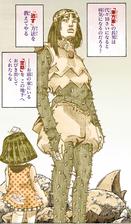 Yotsuyu approaches tsurugi.png