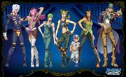 JoJo New Departure Vol. 2 Part 6 Cast.png