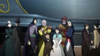 Phantom Blood Joestar group before Jonathan sails away.png