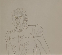 OVA Kakyoin evil smile.png